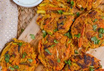 Delicious Healthy Vegetable Pakoras