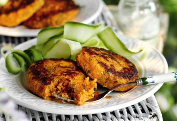 Slimming Worlds Carrot And Coriander Burgers Recipe